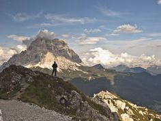 Alta Via 1 weaves hikers through the breathtaking Dolomites mountain range in Italy, past alpine lakes and vast meadows. Equipped with huts that provide hikers with hot meals and bedding, it's an ideal path for backpackers.
