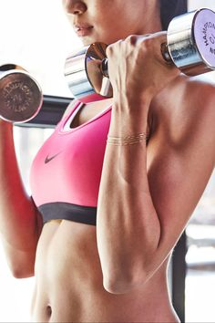 I'm a Trainer, and These Are My 15 Favorite Dumbbell Exercises For Building Muscle PSA: Lifting weights will help you lower your body fat percentage and increase your lean muscle mass. Body Weight, Weight Lifting, Weight Loss Workout Plan, Dumbbell Workout, Dumbbell Exercises, Neck Exercises, Workout Exercises, Butt Workout, Workout Fitness