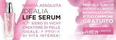 Campione gratuito Idealia Life Serum – Scarica il coupon | Campioni omaggio gratuiti, Concorsi a premi, Buoni sconto - DimmiCosaCerchi.it