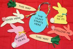 Easter Egg Hunt Signs Kit Giveaway