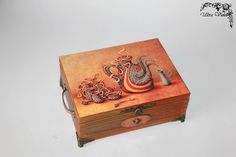 Exclusive tea box, tea box, tea, tea, tea bags, tea box, wood