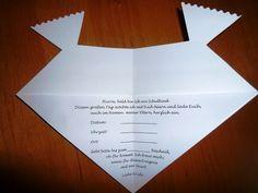 Glückwunschkarten - Einladung Schulanfang Schmetterling mit Umschlag - ein Designerstück von Kreativstuebchen-Jansen bei DaWanda