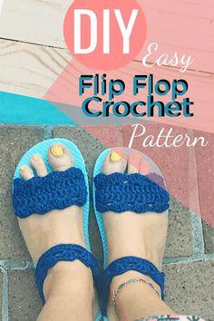Free pattern for crochet shoes Disney Crochet Patterns, Crochet Shoes Pattern, Crochet Ideas, Crochet Projects, Free Crochet Slipper Patterns, Crochet Sandals Free, Crochet Slippers, Crochet Boots, Flip Flop Craft