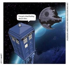 Doctor Who and the T. likes · talking about this. Doctor Who and the T. The Tardis, Doctor Who Funny, Dc Anime, Fandom Crossover, Police Box, Bad Feeling, Geronimo, Dr Who, Superwholock