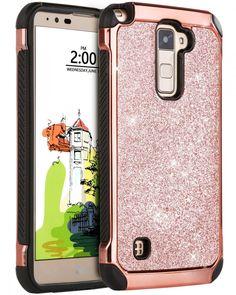 LG Stylo 2 Plus Case, LG Stylus 2 Plus Case, BENTOBEN Glitter Ultra Slim Hard US #BENTOBEN