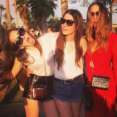 Haim at Coachella Weekend 2