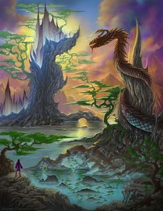 Dragon Crystal Cove by *artsoldier77 on deviantART