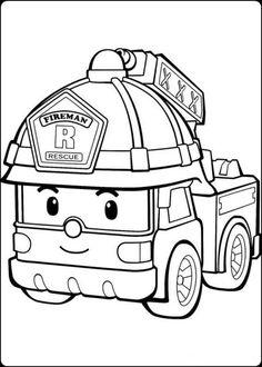 Gambar Mobil Hitam Putih Untuk Diwarnai : gambar, mobil, hitam, putih, untuk, diwarnai, Halaman, Mewarnai, Bunga,, Mewarnai,, Pemadam, Kebakaran