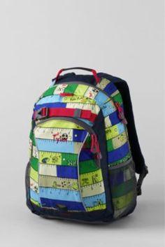 Kids  School Rules ClassMate® Medium Backpack from Lands  End Little Sport 6258f9bc64bb5