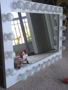 How To Make A Vanity Mirror With Lights Simple 17 Diy Vanity Mirror Ideas To Make Your Room More Beautiful