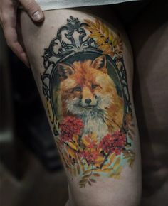 2-fox-tattoos-tattoos