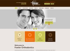 #sesamewebdesign #psds #ortho #responsive #brown #green #orange #sans #top-nav #full-width #flat
