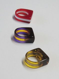 Laser Cut Jewelry: Layered Acrylic Rings