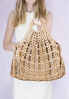 We can't take our eyes off this @haydenharnett handbag.