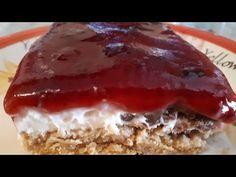 Γρήγορο γλυκό ψυγείου με γιαούρτι!!! - YouTube Greek Sweets, Greek Recipes, Meatloaf, Cheesecake, Food And Drink, Cooking, Desserts, Youtube, Cakes