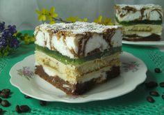 Polish Cake Recipe, Polish Recipes, Food Cakes, Cupcake Cakes, Cake Recipes, Dessert Recipes, Homemade Cakes, Cake Cookies, Baked Goods