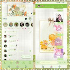 Whatsapp Theme, Desu Desu, Theme Anime, Green Theme, Taehyung, Ios, Iphone, Wallpaper, Pretty