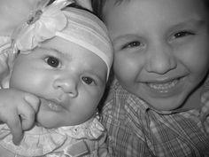 Lauren and Javier [niece and nephew] <3