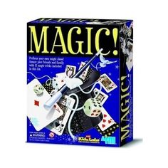 Kids Magic Tricks Kit Set Wand Playing Cards Magician Houdini Rope Dice Box Easy
