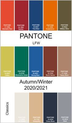 pantone autumn winter 2020 2021 london fashion week trends color in fall colors jet black tcx sunset gold