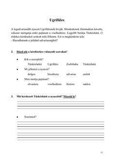 Olvasóka 1-2. évfolyam számára Home Learning, Grammar, Worksheets, Sheet Music, Literature, Teaching, School, Children, Book
