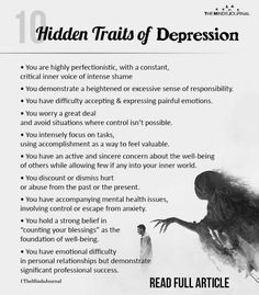 10 Hidden Traits Of Depression You Might Not Know About These traits might seem very normal on the surface, but there is much more to it than what meets the eye. Hidden Traits Of Depression Mental And Emotional Health, Mental Health Quotes, Mental Health Matters, Understanding Depression, Understanding Anxiety, How To Overcome Depression, Overcoming Depression, Mental Illness Awareness, Depression Awareness