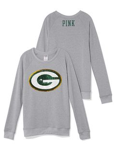 Green Bay Packers Bling Crew PINK