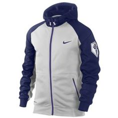 Nike Kobe PF F/Z Hoodie - Men's - Basketball - Clothing - Pure Platinum/Imperial Purple/Court Purple