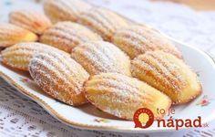 Neuveriteľne lahodná francúzska delikatesa: Medeleine sušoenky hotové za 15 minút!