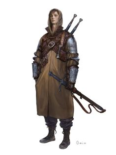 ArtStation - Youngmin Seo : Character Painting (Assassin) By. Fantasy Character Design, Character Design Inspiration, Character Concept, Character Art, Concept Art, Dark Fantasy, Fantasy Armor, Medieval Fantasy, Dnd Characters