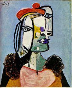 Ms. Curry's Art Room : Grade 1 Pablo Picasso Portraits