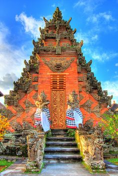 Balinese Temple by LifeInMacro | Thainlin Tay, via Flickr