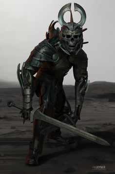 Captain armor modeled after lord Arkons menacing skull helmet/crown only the most elite killers are allowed to be a captain