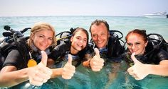 Scuba courses for everyone.