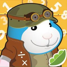 Bugsy's Math Quest - Free - An addictive app that helps reinforce times tables and division tables while playing a high-speed game.  iOS.