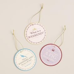 Downton Abbey Collection ~ Downtown Abbey Gift Tags #WorldMarket Holiday Gifts, #DowntonAbbey #spon