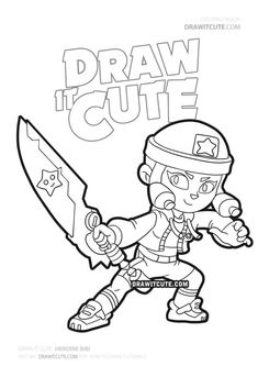 How to draw Heroine Bibi Star Coloring Pages, Printable Coloring Pages, Coloring Sheets, Coloring Books, Super Easy Drawings, Profile Wallpaper, Star Painting, Star Art, Dark Souls