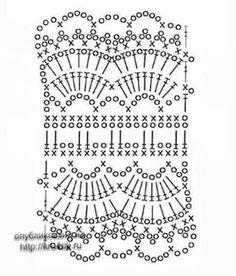 Tiara em Crochê com Flor e Gráfico - Crochê On Line - Gráficos, Paps e Vídeoaulas