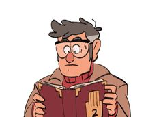 Gravity Falls, fandom, GF SIFCO, gif GF GF, GIF, Personajes GF, Stanford Pines, Stanley Pines, Mabel Pines, Dipper Pines