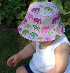 matching sun hat for mercy.