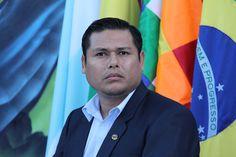 Embajador de Bolivia en Paraguay, Rosendo Alpiri Nominé, miembro del pueblo indígena 6, etnia que habita en la región del Chaco de ambos países