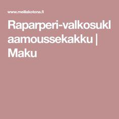 Raparperi-valkosuklaamoussekakku | Maku