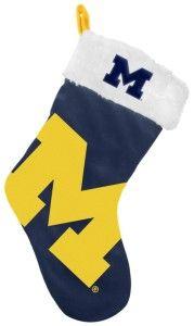 Michigan Wolverines 2012 Stocking - BiggSports.com