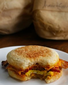 Freezer Prep Breakfast Sandwiches