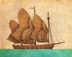 Winged Odyssey Art Print