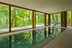 Indoor Swimming Pool Ideas for Your Luxury Home. Swimming can be regarded as one of the fun sport. Especially if you have your own pool. Yes, for some people the presence of a swimming pool can incre. Amazing Swimming Pools, Swimming Pools Backyard, Swimming Pool Designs, Garden Pool, Cool Pools, Indoor Pools, Lap Pools, Pool Decks, Pool Landscaping