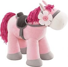 This cute horse from Haba will be welcome to any tots 18 months and up stuffed animal collection. Haba Horse Paulina Stuffed Animals and Plush Toddler Fun, Toddler Toys, Baby Toys, Plush Horse, Cute Horses, Baby Games, Baby Kind, Soft Dolls, Baby Boutique
