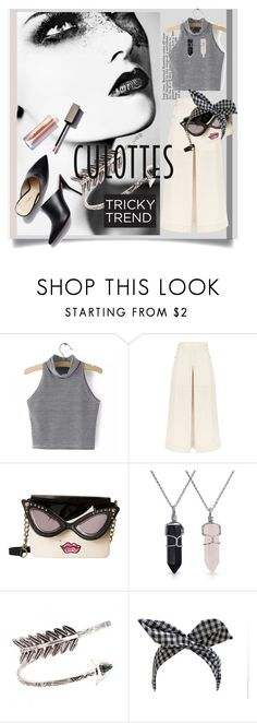 """""""Tricky Trend: Chic Culottes"""" by kari-c ❤ liked on Polyvore featuring 3.1 Phillip Lim, Temperley London, Betsey Johnson, Bling Jewelry, Retrò, TrickyTrend and culottes"""