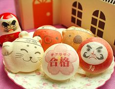 Japanese Dolls Macaron