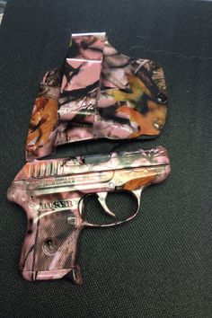 "LOVE THIS! Perfect carry for the ladies! Ruger .380 Pistol in ""Mossy Oak Pink Camo"" At Brevard Ammo and Sporting Supply-Titusville, FL"
